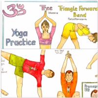 Twin pack: Your Yoga Chart and Yoga Chart